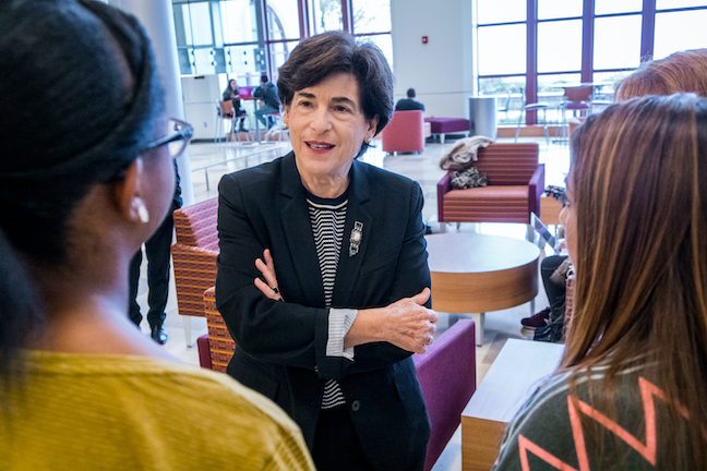 President Susan Cole has more than tripled the budget at Montclair State University, paving the way for its recent designation as a level 3 research institution.