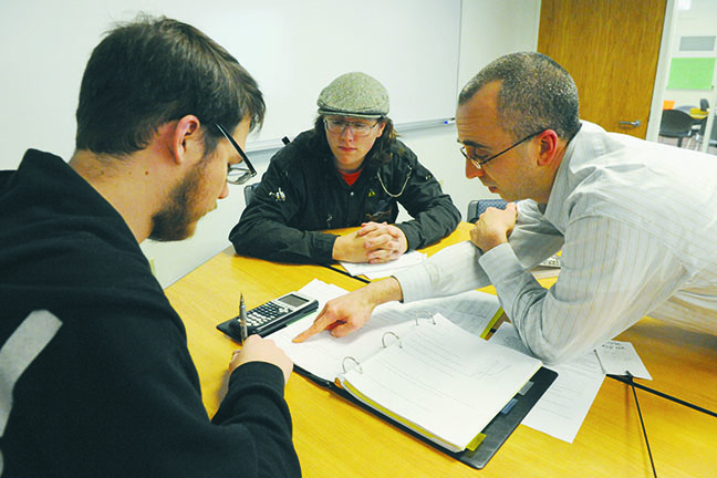 Academic Triumph—At Greenfield Community College, peers get paired with students needing help with organization and other executive function challenges to model the kinds of behaviors that result in success in college.