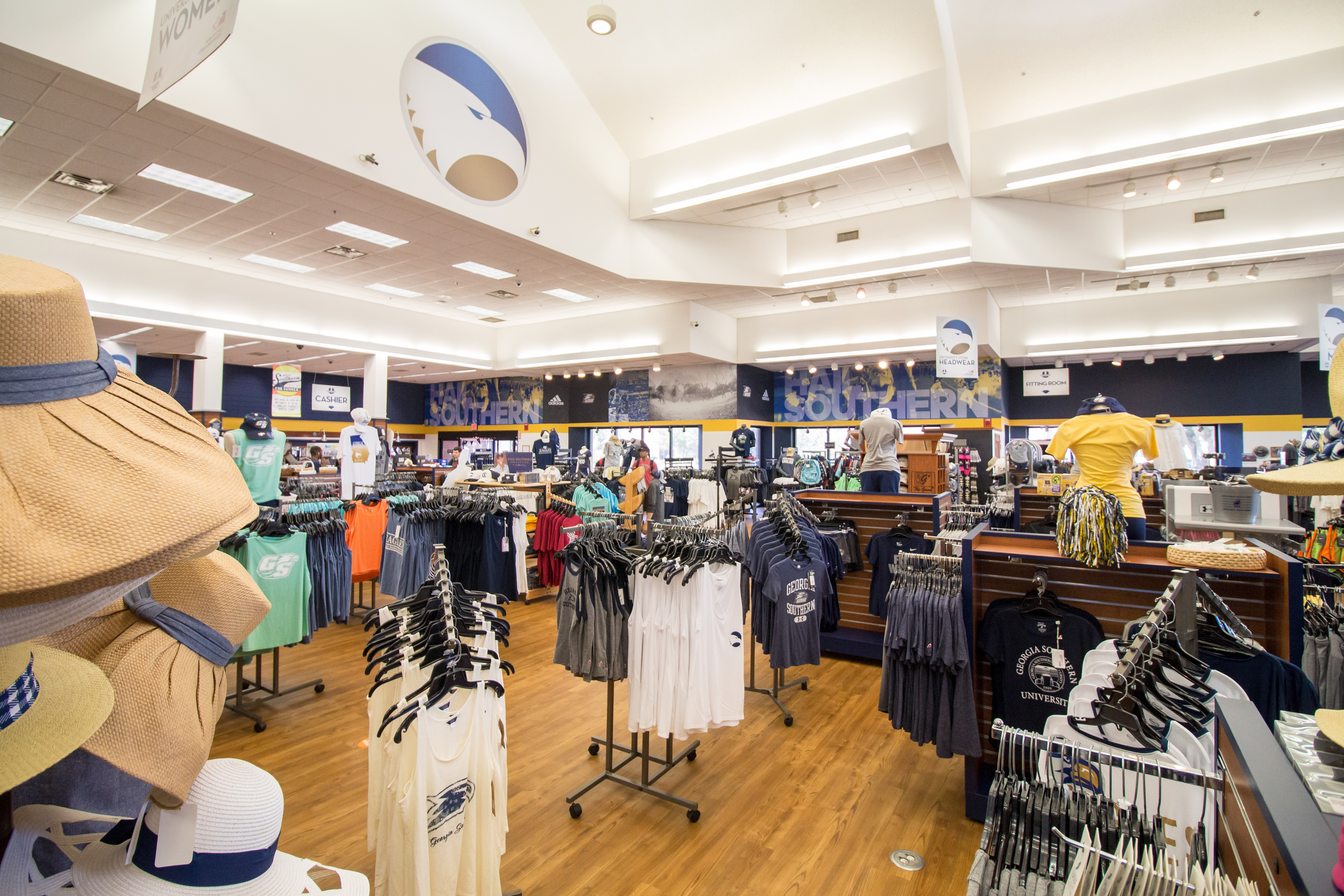 Nearly one-quarter of Georgia Southern University's student population had signed up for its store's U Count Rewards Program in its first three months. Students get $2 for every $100 spent in the store.