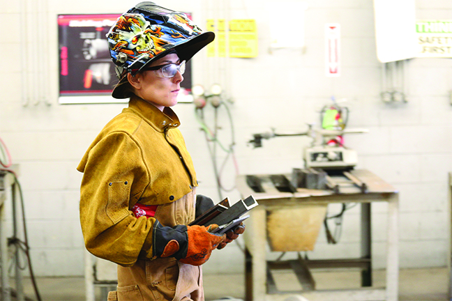 About 275 women have enrolled in CTE programs at Louisiana community colleges during the system's push to train more female students in welding, manufacturing and other in-demand professions.