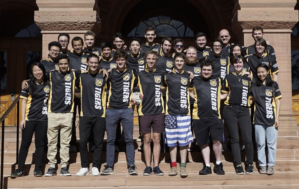 Colorado College's Overwatch team began its first competitive esports season in January.