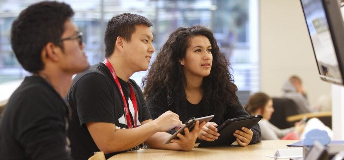 The use of mobile technology in education can improve learning. At California State University, Fresno, the DISCOVERe mobile technology initiative has increased student engagement.