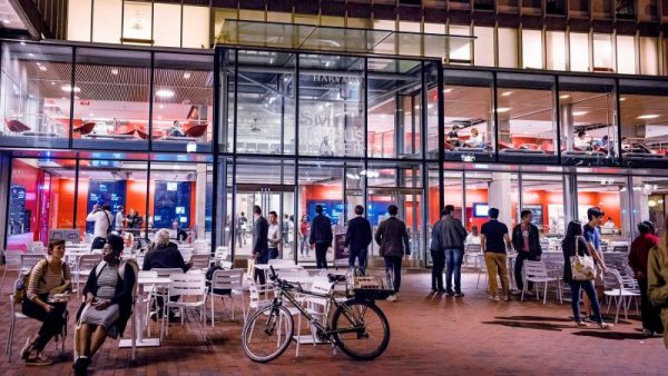 Harvard's new 96,242-square-foot campus center is part of an initiative to ensure that the university's physical spaces support both the campus and local communities.