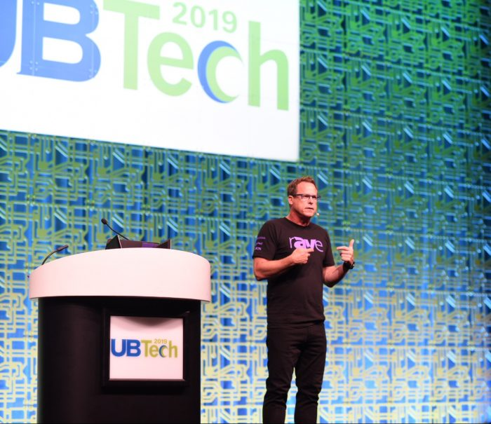 Gary Kayye opened UB Tech 2019 with a look at future technology.