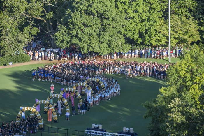 HOW EVENT MANAGEMENT SYSTEMS CAN HELP—Vanderbilt University uses event management software for universities to plan the annual Founder's Walk which requires the coordination of multiple campus departments, including admissions and the registrar.