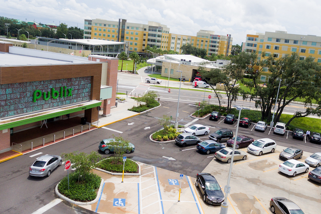 Publix, a popular grocery chain in the southeastern U.S., operates a store on the University of South Florida campus in Tampa.