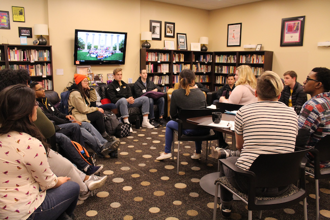 The annual Tunnel of Oppression activity at the University of Missouri allows students to examine the marginalization of various ethnic and identity groups.