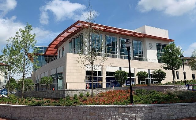 The new 130,000-square-foot Emory University Student Center in Atlanta.