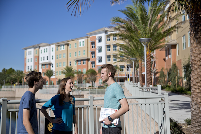 Not all schools can offer more single rooms in residence halls for first-year students like the University of Central Florida (above). Yet, administrators are adding other amenities and taking other approaches to cope with growing housing demands.