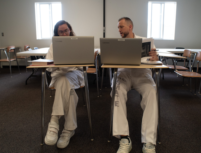 The University of Utah Prison Education Project instructors teach courses based on the interests of individuals incarcerated at Utah State Prison. This fall, gender studies is being taught in the men's prison.