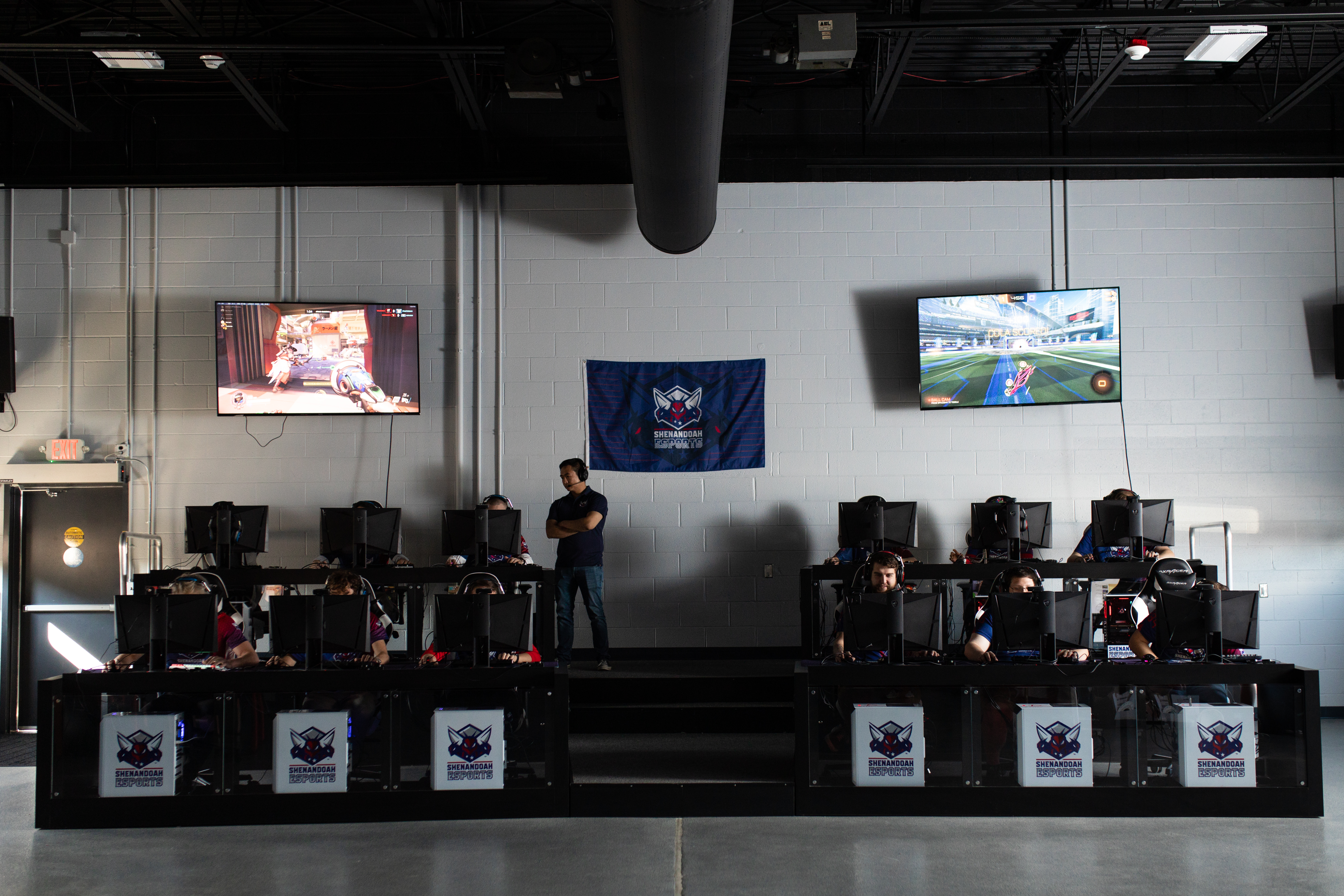 """The esports industry is allowing a lot of people to """"have their dream jobs,'"""" says Sean Kelly, a Shenandoah University sophomore who is both majoring in esports and competing on a varsity team."""