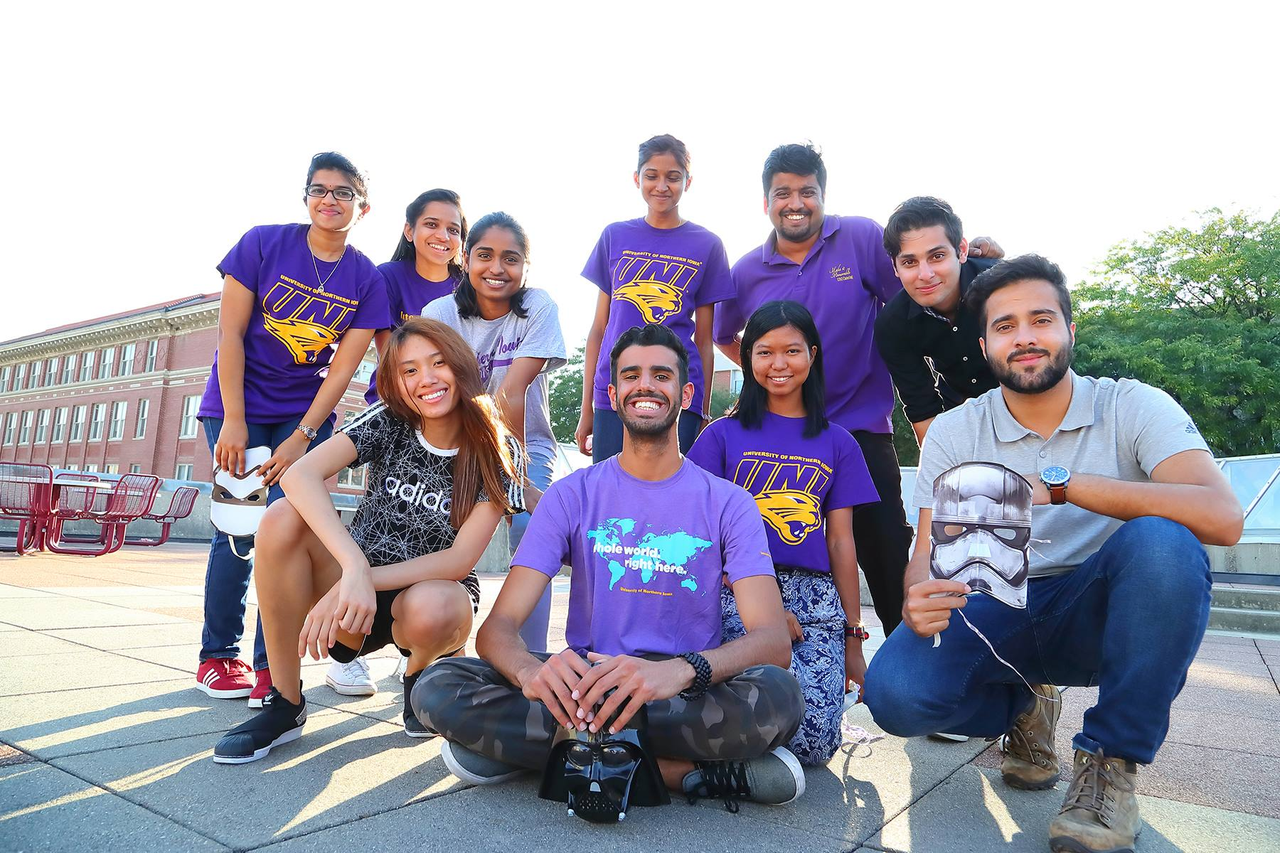 The University of Northern Iowa has recruited in Ghana, Malaysia, Oman, Pakistan and Nigeria as more students in those countries can now afford to attend college in the U.S.