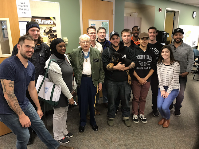 Eastern Michigan University is supporting veterans in higher education by giving them access to a resource center where they can get help with academic and financial planning.