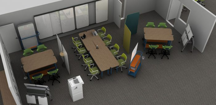 Offering three areas for student collaboration and research, Missouri S&T's new digital lab will be located in the Humanities and Social Sciences Building on campus.