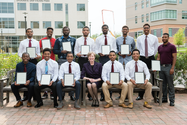 A new study sheds more light on the earning potential of associate degree and certificate holders, such as these 2015 graduates of Maryland's Howard Community College.