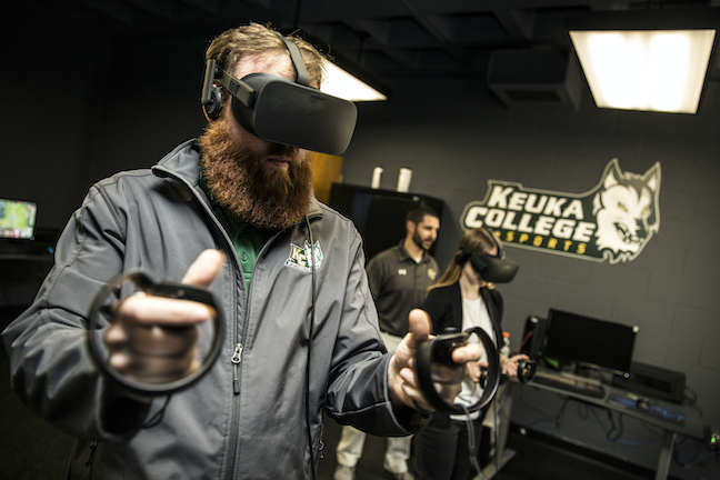 Keuka College, one of the first colleges in New York and in Division III to launch a varsity esports team, now competes against higher profile schools such as Brown University and Villanova University.