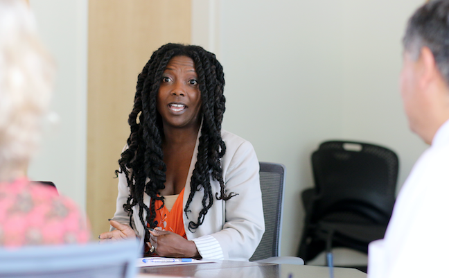 Community colleges offer plenty of diversity, so Portland Community College Chief Diversity Officer Tricia Brand focuses on college degree completion.