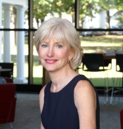 Michele Perkins is president of New England College in New Hampshire. (Photo by Allegra Boverma.)