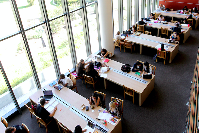 College library design often focuses now on open, collaboration areas, though research show some nuance on how students prefer to use these spaces.