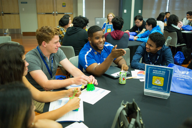 Social justice, gender equality and other equity issues have been prioritized by chief diversity officers as the newest members of the college president's cabinet. (Photo: James Tensuan/San Jose State University)