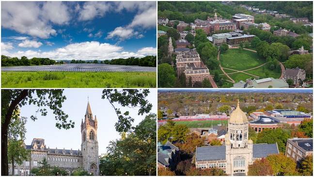 A partnership will enable all four institutions―Lehigh University, Lafayette College, Muhlenberg College and Dickinson College―to mitigate 100% of their emissions associated with electricity consumption.