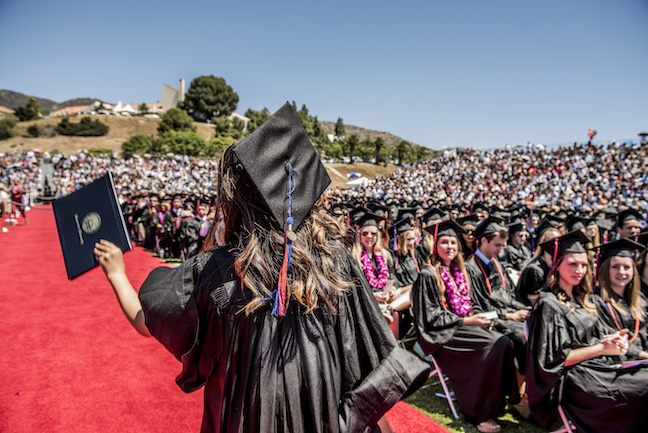 With coronavirus canceling the traditional graduation ceremony, college leaders consider online alternatives or holing joint ceremonies with class of 2021.