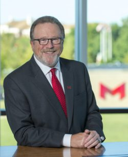 Mark Lombardi is the president of Maryville University in St. Louis.