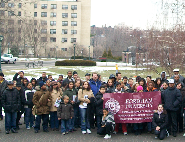 Since New York City schools closed due to coronavirus Fordham's Graduate School of Education has been providing professional development to teachers who have shifted to online learning.