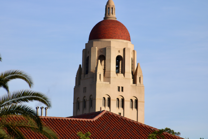 Stanford University, above, and several other major U.S. institutions has moved to online education as coronavirus continues to spread.