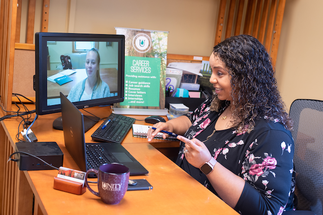 Environmentally-focused Unity College's new online/face-to-face hybrid learning program gives students the flexibility to choose how and when they take classes.