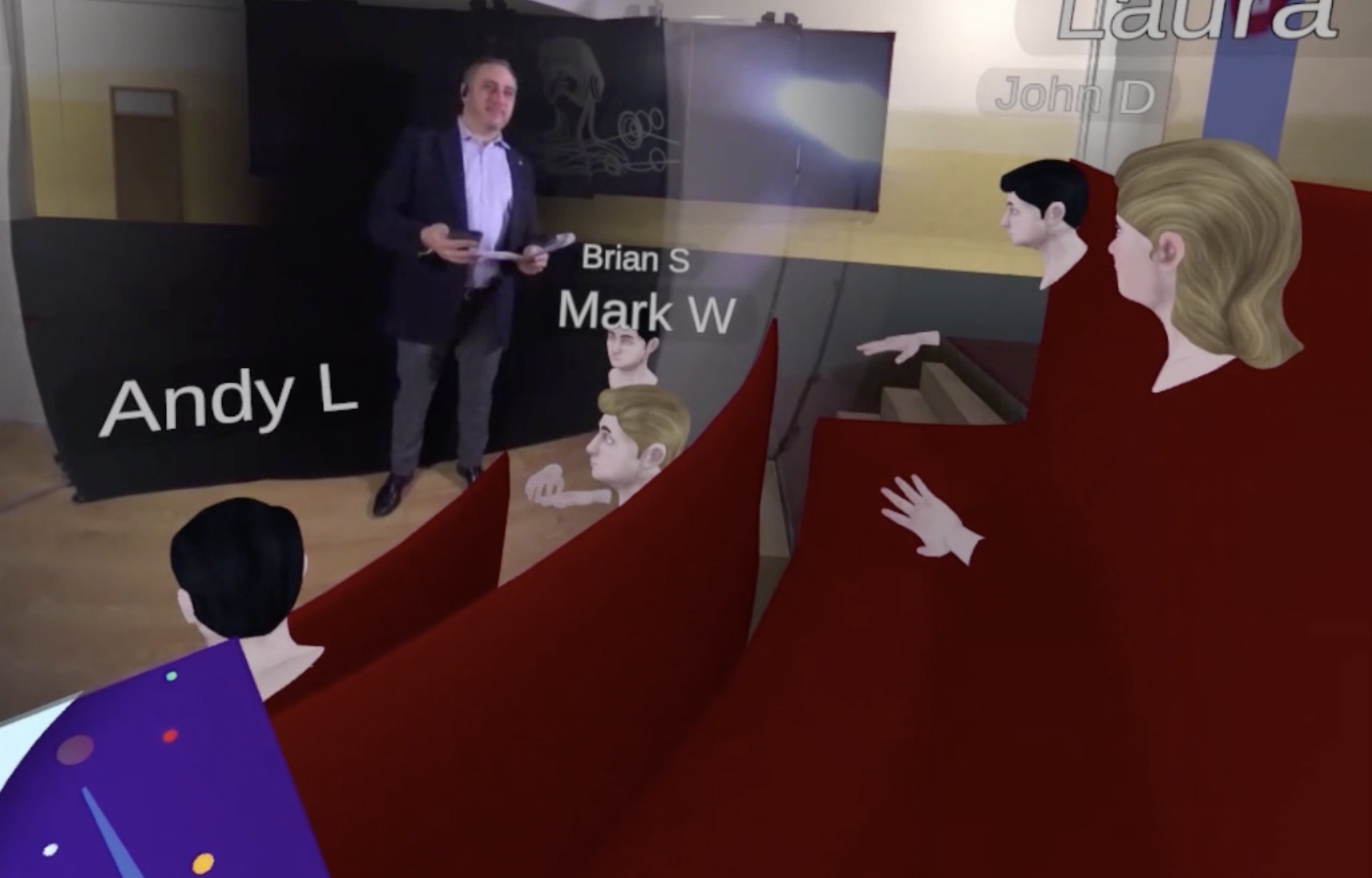 Using VR technology, Temple University created a VR class where students are avatars and each lesson includes a live stream lecture with the professor.