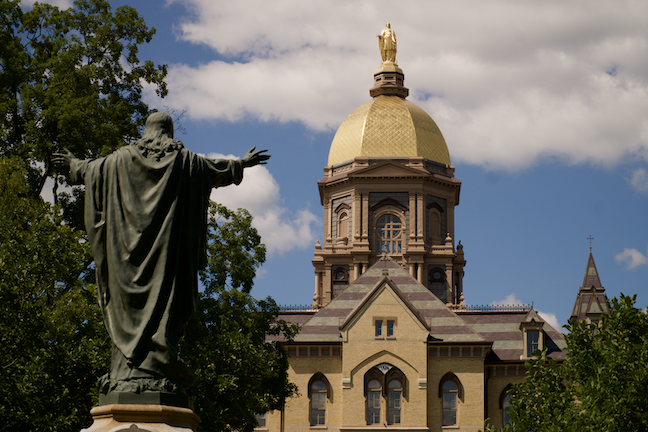 University of Notre Dame faculty are preparing for a fall semester of in-person and remote teaching. (GettyImages.com/ReDunnLev)