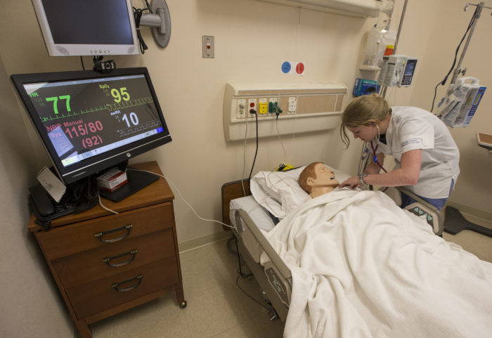 Laramie County students are using nursing school mannequins since many hospitals are not accepting students on site, but many graduates are saying that the simulation mannequins have increased their engagement.