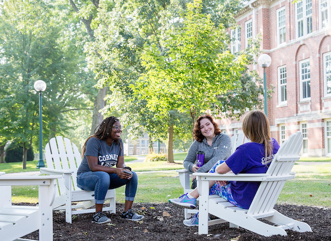 Cornell College in Iowa resumed campus tours on Monday with limited access to buildings and prospective students allowed to bring three guests. Tours will be conducted by admissions staff and athletics coaches.