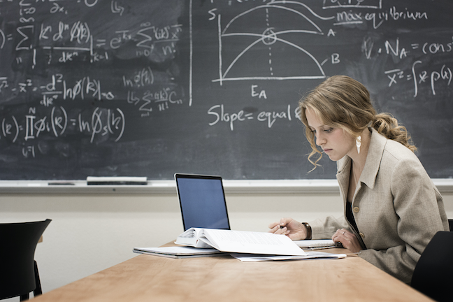 A majority of students don't think online learning should be a top priority at their colleges and universities, a recent survey found. (GettyImages/Hill Street Studios)