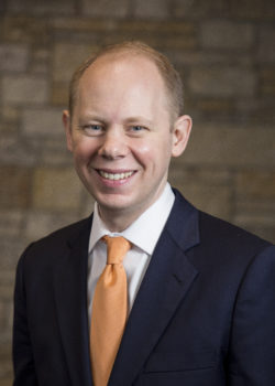 Matthew Scogin is the 14th president of Hope College in Holland, Michigan.