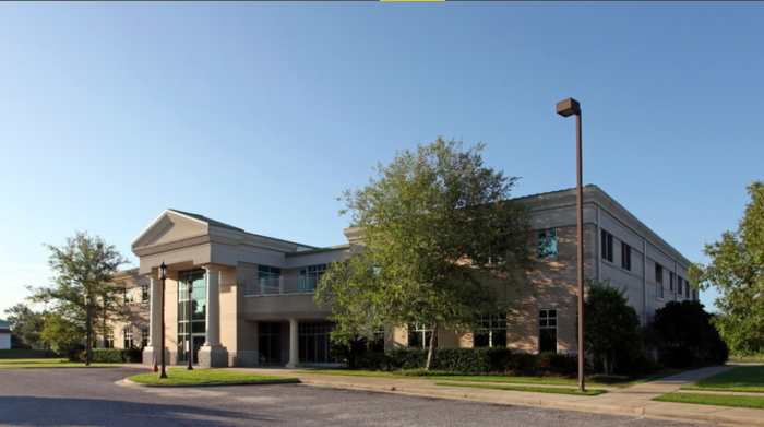 The workforce development center, also known as the Baldwin Center, has leased the building to various businesses and Coastal Alabama Community College, making the facility a combination of a business and college workforce center.