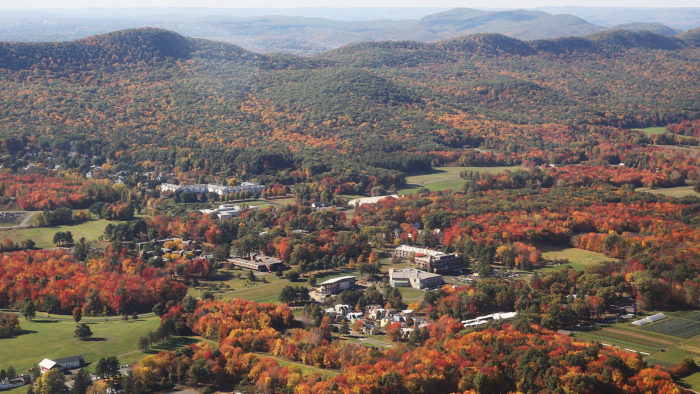 Hampshire College's faculty union agreed to a salary reduction as a way to avoid layoffs.