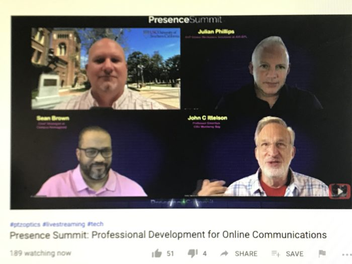 Unified communications within higher ed was the focus on a panel session from the Presence Summit.