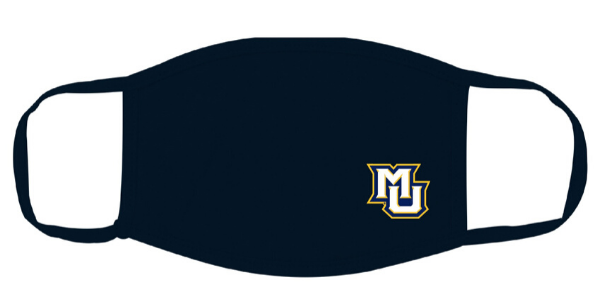 Marquette University will give a logo-branded face mask to donors who contribute to students training for frontline healthcare professions, and it will give another mask to a current student.