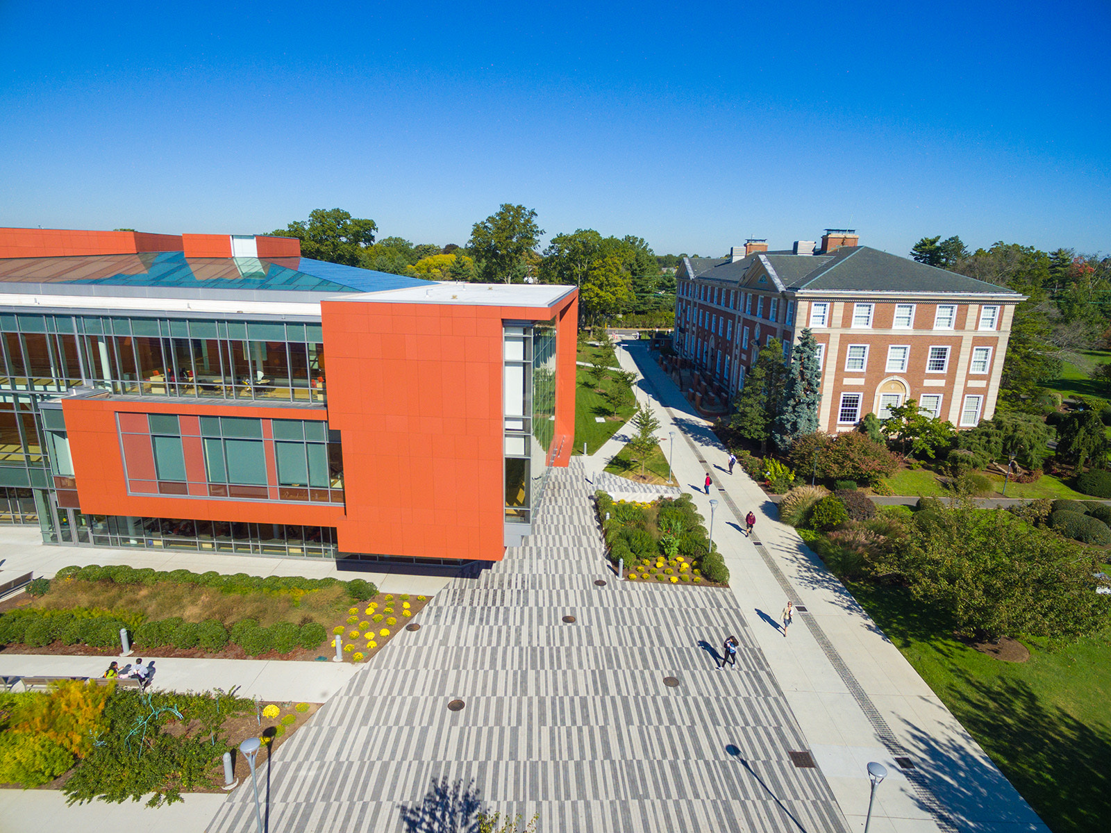 Adelphi University is one of four institutions receiving CARES Act funding through the town.
