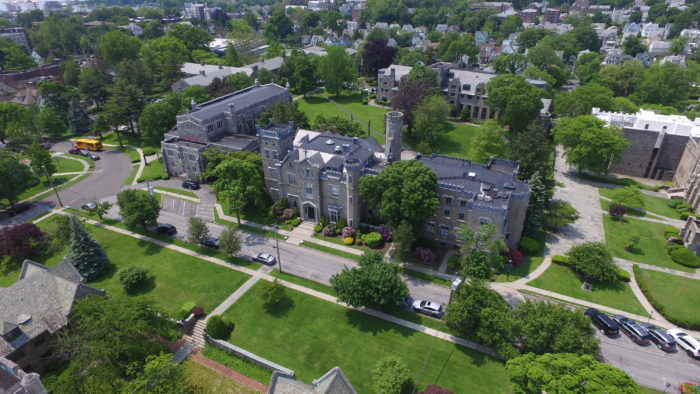 Real estate assets that might be sold could include single buildings, or in the College of New Rochelle's case, a whole campus. A&G Real Estate Partners brokered that deal.