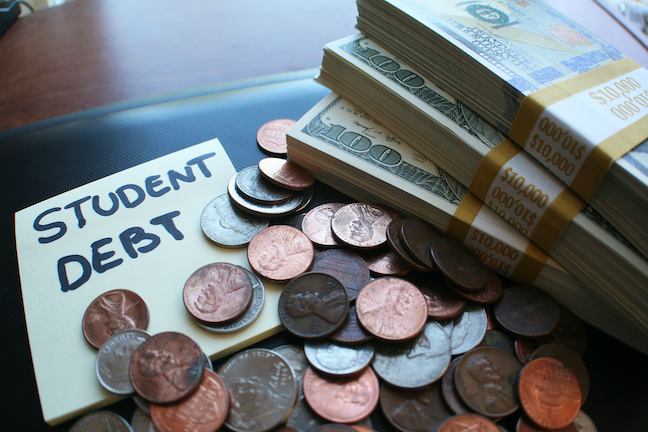More than half of graduates from the class of 2019 at nonprofit 4-year public and private colleges and universities had student loan debt. (GettyImages/Darren415)