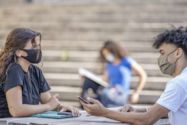 Around 20% of Vermot college students said they might delay or cancel their enrollment plans for the fall semester if they had to take all or most classes online, a survey has found. (GettyImages/FatCamera)
