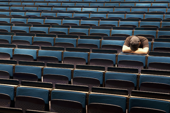 The number of graduate students who reported significant depression in 2020 doubled since a campus mental health survey done last year. (GettyImages/Caspar Benson)