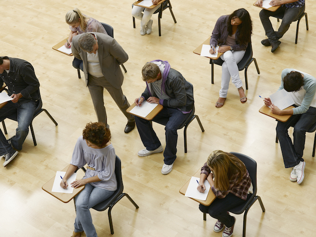 College administrators are dropping SAT and ACT test admissions requirement to reduce stress on families and students coping with COVID disruptions. (GettyImages/Chris Ryan)