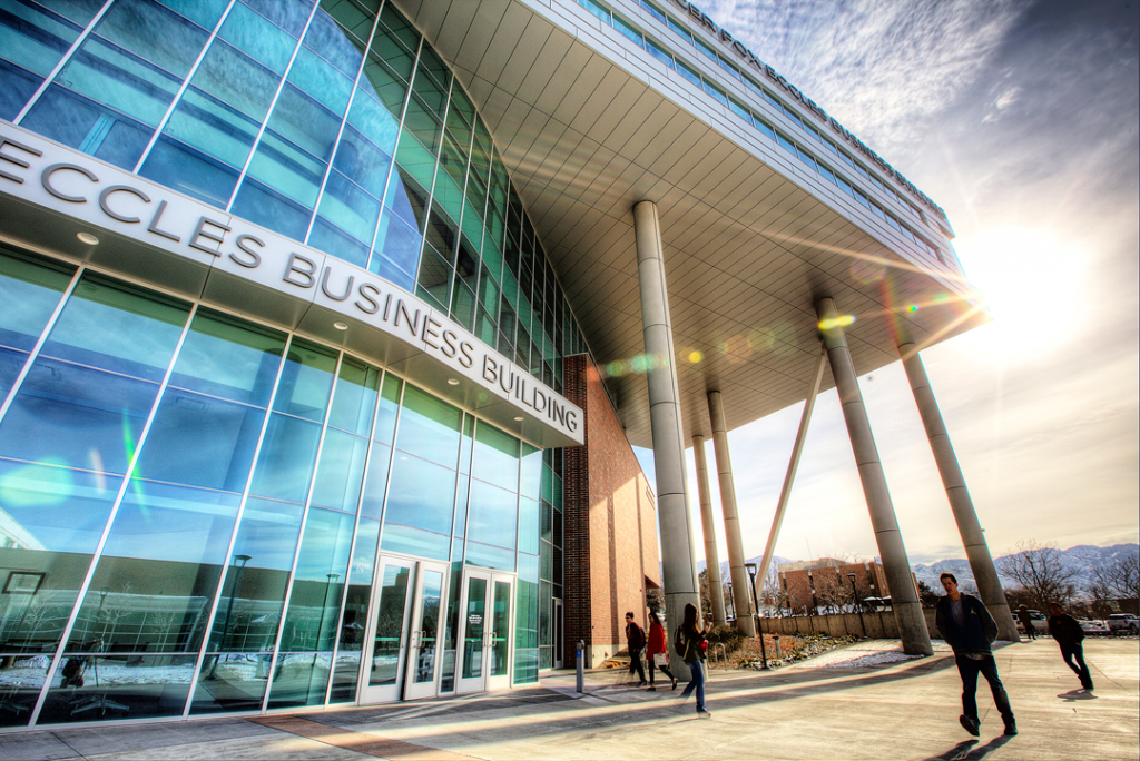 David Eccles School of Business, part of the University of Utah, introduced a summer admit program for aspiring master's students who may be displaced by the economic upheaval.