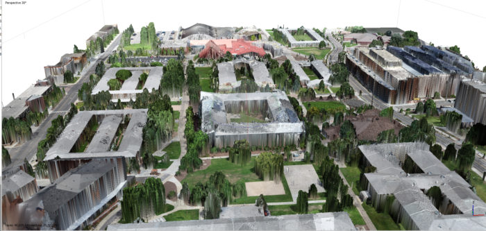 Creating a new, better type of campus accessibility map requires significant and precise data collection and 3D modeling.