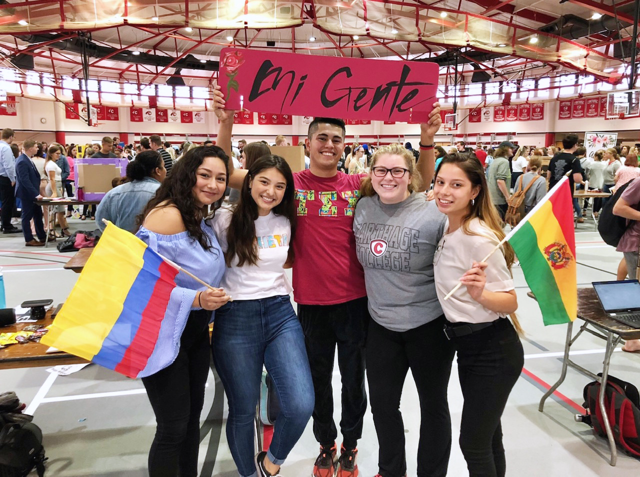 Carthage College's Student Involvement Fair 2019 is one way leaders there aim to embed anti-racism on campus.