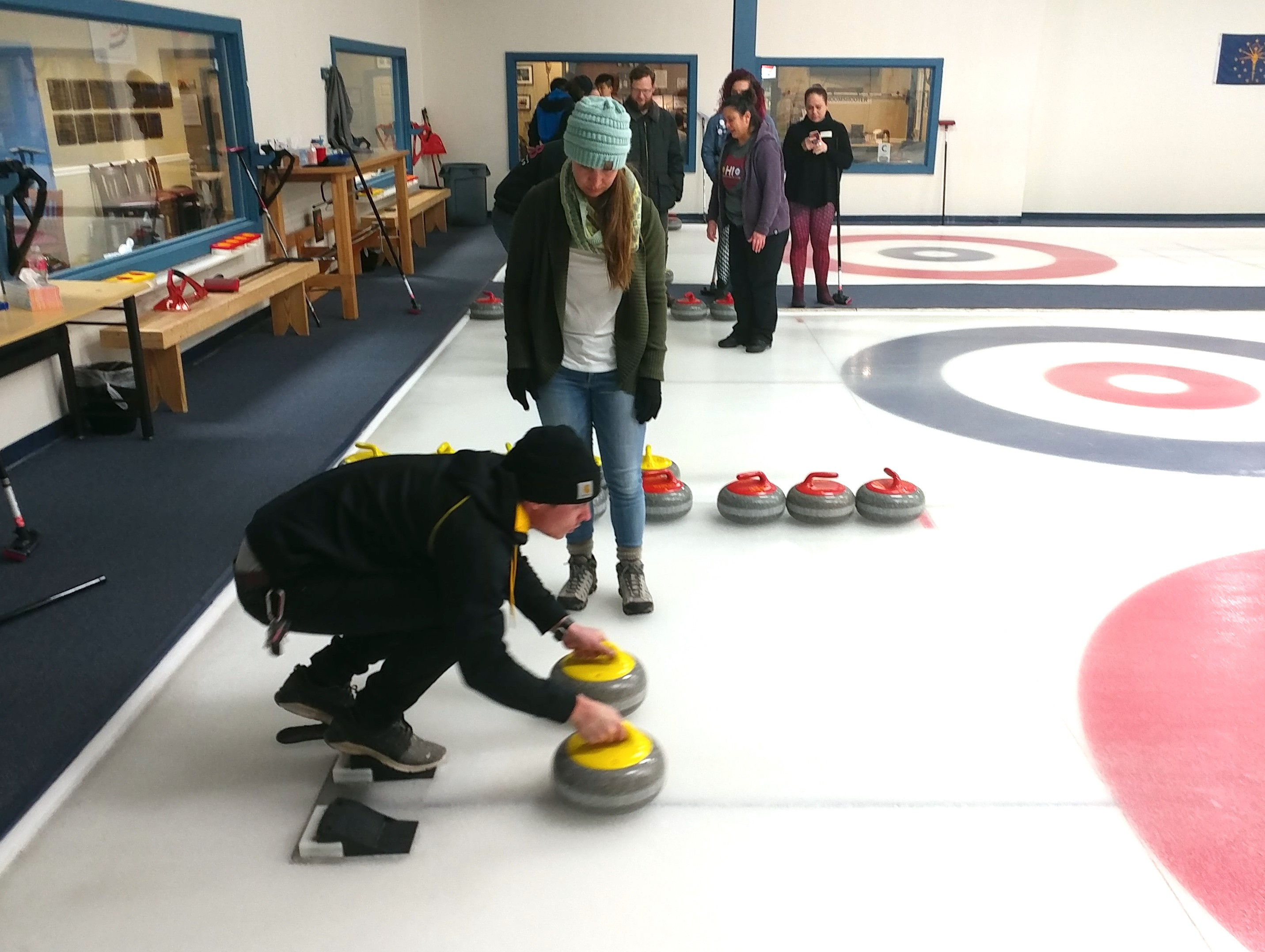 Student Legal Services Curling Event